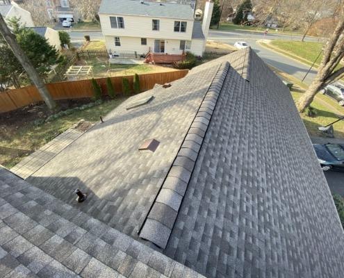 roof shingle roof