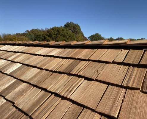 Synthetic Cedar Shake Roofing