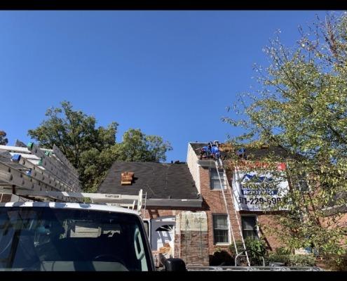 cedar roof shingles installation